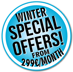 winter special offer from 299€